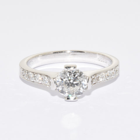 18ct White Gold Diamond 1ct Solitaire