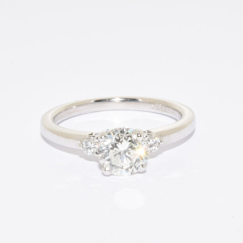 18ct White Gold Diamond Solitaire