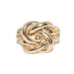 9ct Heavy Gold Knot Ring
