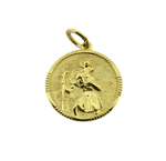 Large 9ct Saint Christopher Pendant