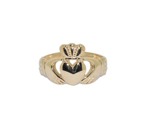 9ct Gold Small Claddagh Children's Ring