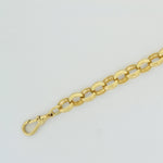 9ct Belcher Bracelet Engraved & Plain