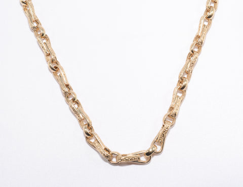 Men's Handmade Gold Chain 108 Grams