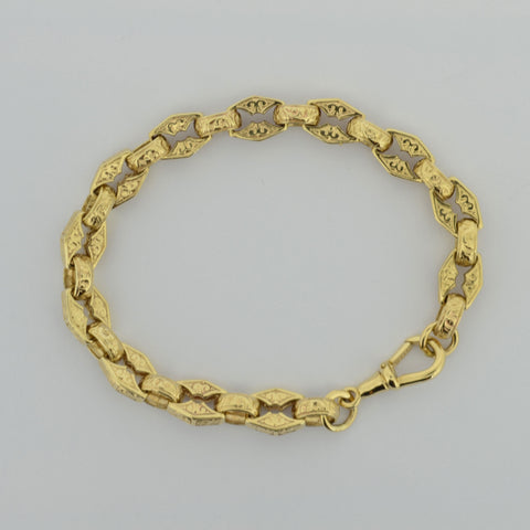9ct Fancy Antique Bracelet