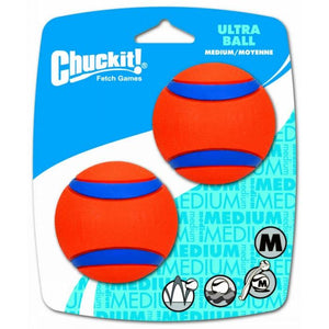 Chuckit Ultra Ball Medium 6cm - (2 pack)