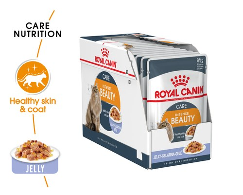 Royal Canin Intense Beauty Jelly Sachet (12x85g)