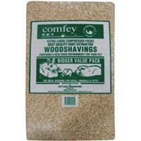 Comfey Pet Wood Shavings - 25Litre