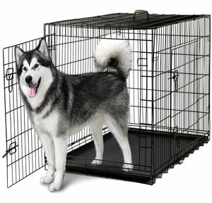 Bono Fido Collapsible Metal Crate - 36 inch