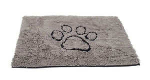 Dirty Dog Doormat - Grey - Large