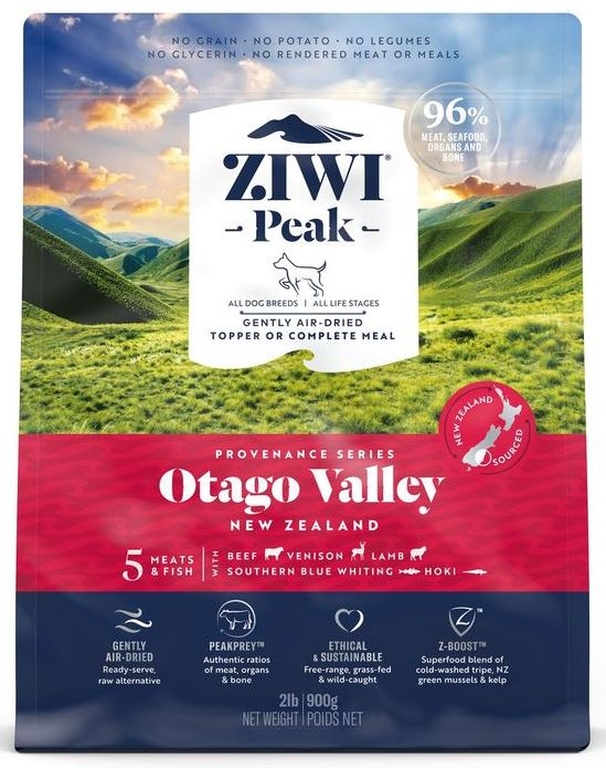 Ziwi Peak Air-Dried Otago Valley Recipe for Dogs 900g