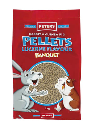 Peters Rabbit & Guinea Pig Pellets 4kg