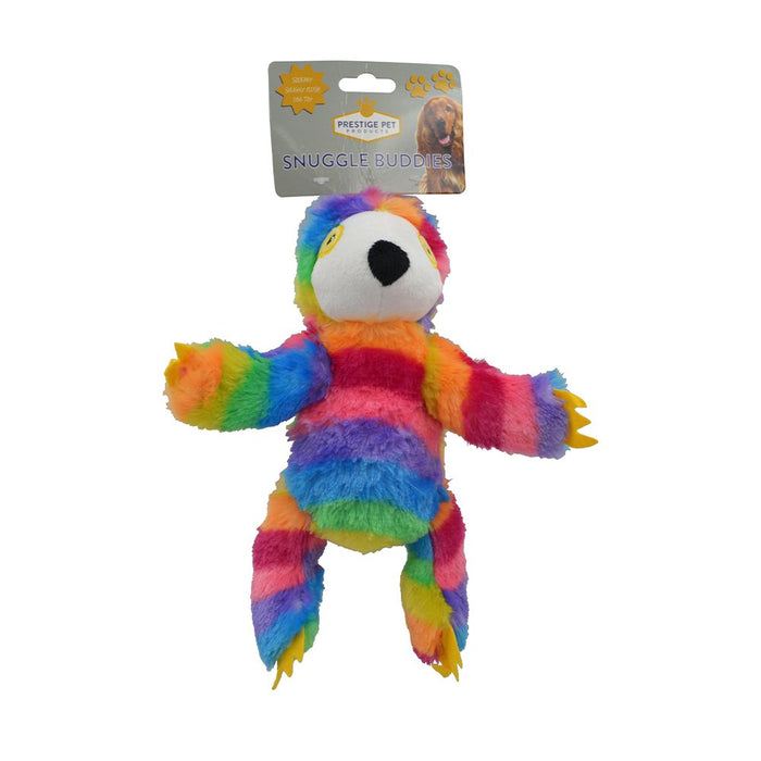 Prestige Plush Sloth Rainbow - Large