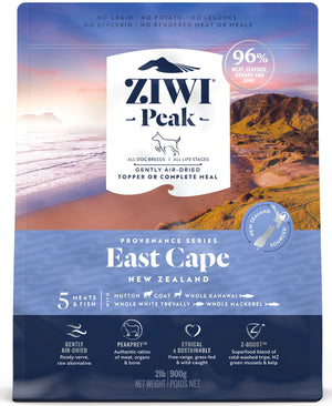 Ziwi Peak Air-Dried East Cape Recipe for Dogs 900g