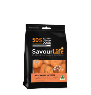 SavourLife Australian Sweet Potato Chews 150g