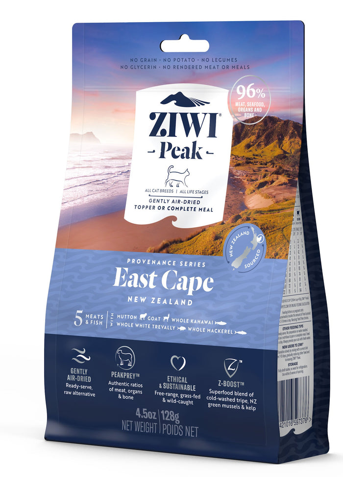Ziwi Peak Air-Dried East Cape Recipe for Cats 128g