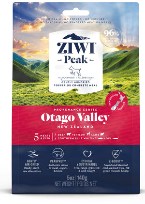 Ziwi Peak Air-Dried Otago Valley Recipe for Dogs 140g