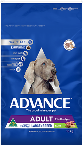 Advance Dog Adult Large Breed Lamb 15kg