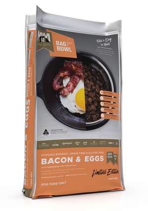 Meals for Mutts Dog - Bacon & Eggs 14kg