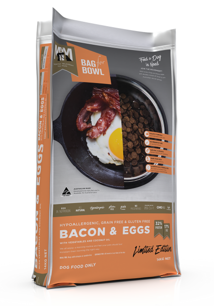 Meals for Mutts Dog - Bacon & Eggs