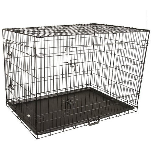 Bono Fido Collapsible Metal Crate - 42 inch