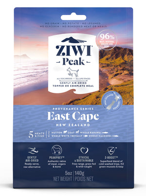 Ziwi Peak Air-Dried East Cape Recipe for Dogs 140g