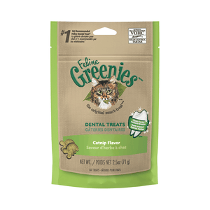 Greenies Feline Treats 71g - Catnip Flavour