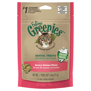 Greenies Feline Treats 71g - Savoury Salmon Flavour