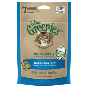 Greenies Feline Treats 71g - Tempting Tuna Flavour