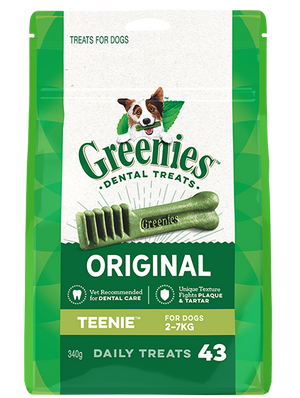 Greenies Dental Chews - Original Teenies 340g