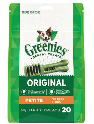 Greenies Dental Chews - Original Petite 340g