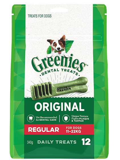 Greenies Dental Chews - Original Regular 340g