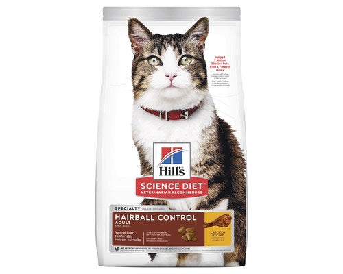 Hills Science Diet Feline Adult Hairball 2kg
