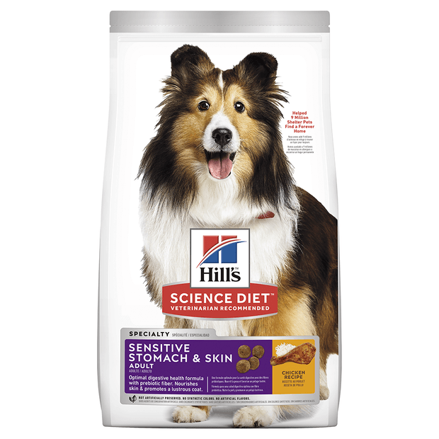 Hills Dog Adult Sensitive Stomach & Skin 12kg