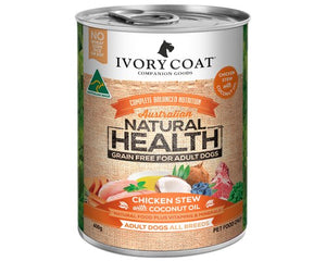 Ivory Coat Adult Chicken Stew with Coconut Oil 400g