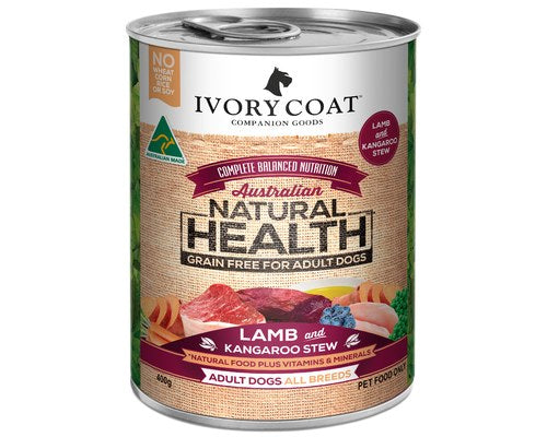 Ivory Coat Adult Lamb & Kangaroo Stew 400g
