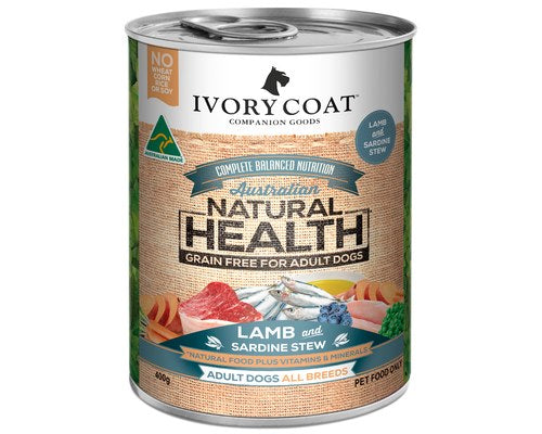 Ivory Coat Adult Lamb & Sardine Stew 400g