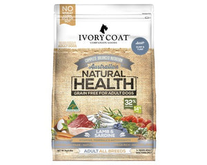 Ivory Coat Dog Adult Lamb & Sardine 13kg