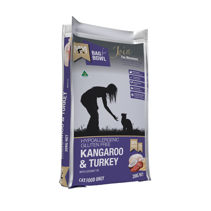 Meals for Meows Cat Kangaroo & Turkey