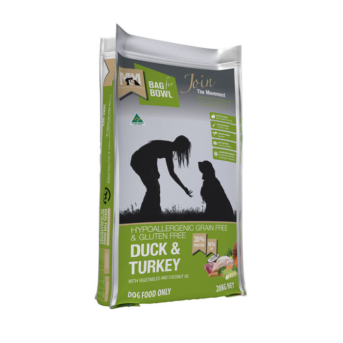 Meals for Mutts Dog Duck & Turkey 9kg
