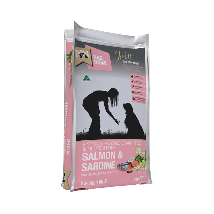 Meals for Mutts Dog GRAIN FREE Salmon & Sardine