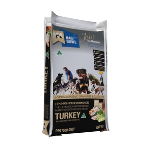 Meals for Mutts Dog Turkey Hi Performance