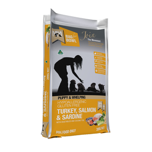 Meals for Mutts Puppy Turkey, Salmon & Sardine