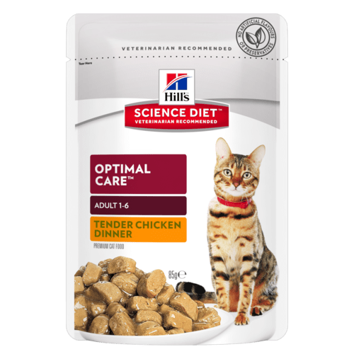 Hills Science Diet Adult Optimal Care Chicken Tender Chunks in Gravy (12x85g)