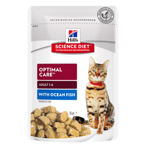 Hills Science Diet Adult Ocean Fish Tender Chunks in Gravy (12x85g)