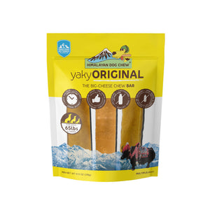 Himalayan Dog Chew - Yaky Original Yellow
