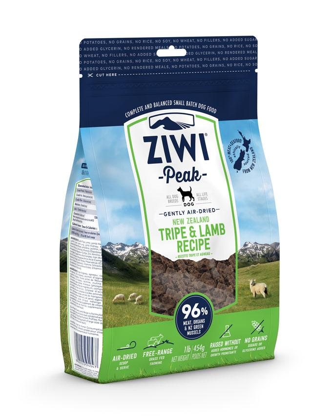 Ziwi Peak Air-Dried Tripe & Lamb for Dogs 454g