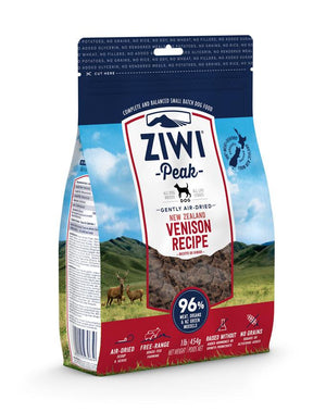 Ziwi Peak Air-Dried Venison for Dogs 454g