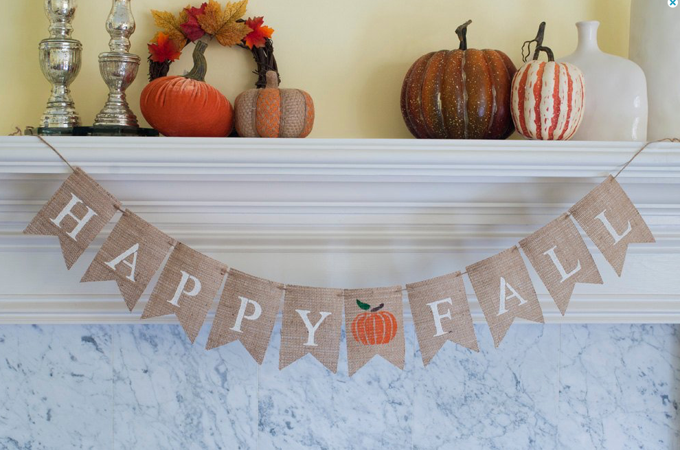 Tips for Creating a Stylish Fall Mantel