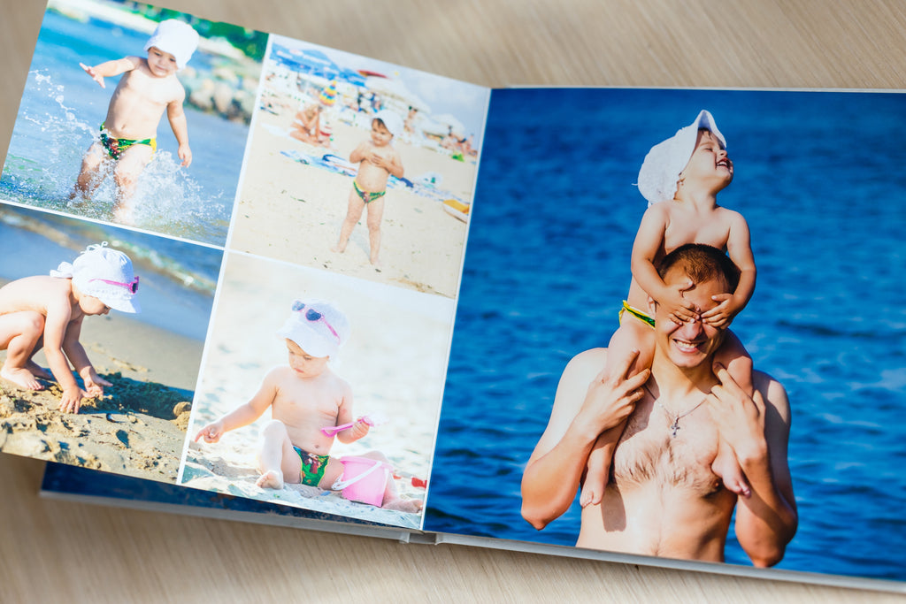 Don't leave those photos in the cloud— turn them into a custom picture book!