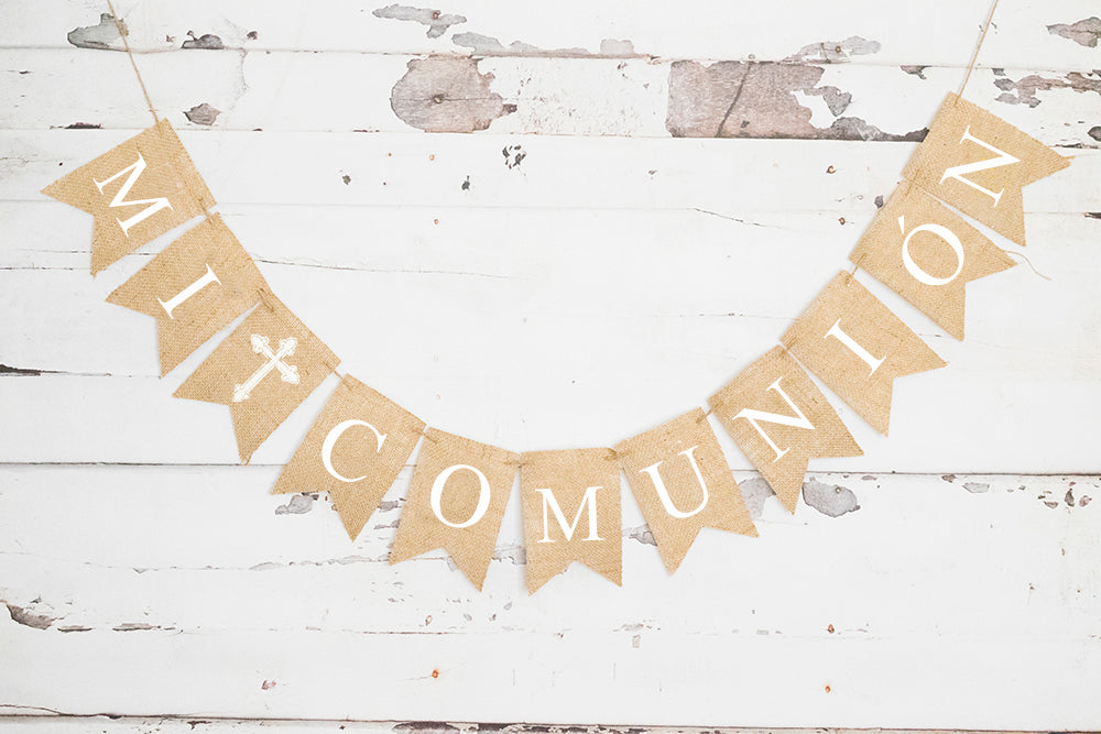 Mi Comunion Banner | Communion Decorations